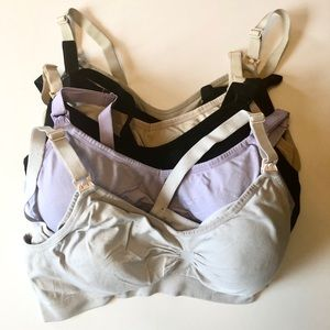 6 nursing bras